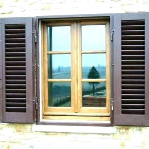 In-Stock Exterior Shutter Installation