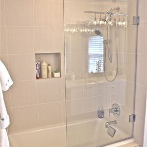 Stock Shower Door Installation