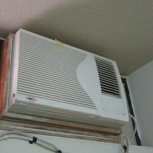 Window Mounted AC Installation