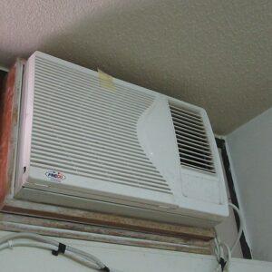 Window Mounted AC Installation