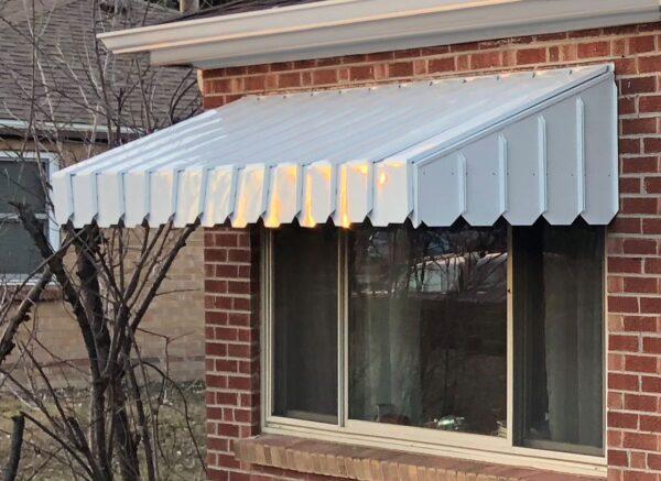 Exterior Awning Installation