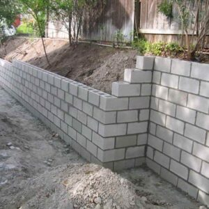 Brick, Stone, Block Wall Installation