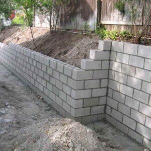 Brick, Stone, Block Wall Installation