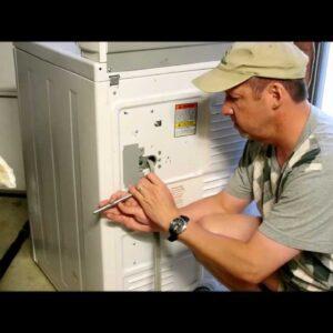 Electric Dryer Installation