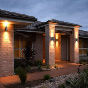 Exterior LED Light Installation