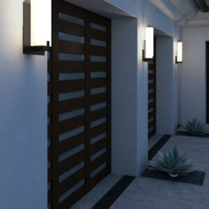 Exterior Wall Lighting Installation