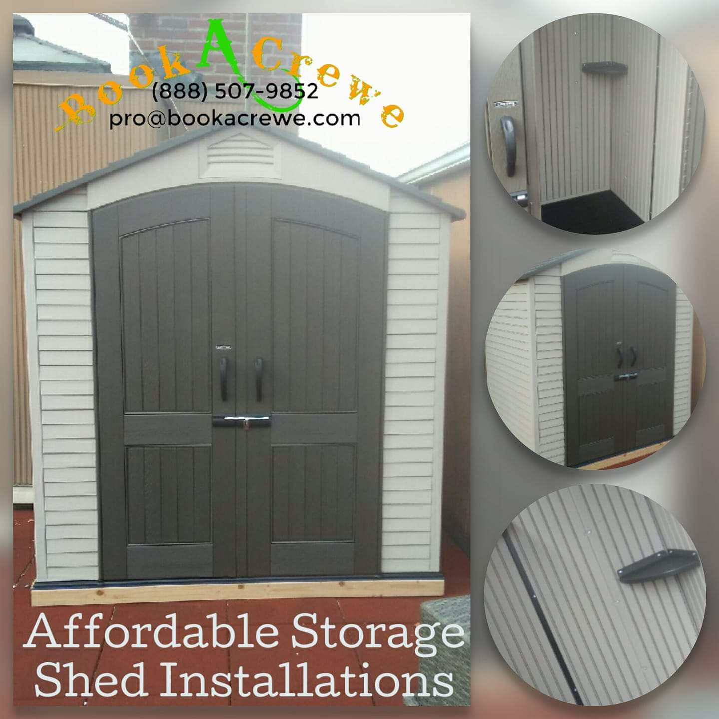 Home & Office Improvement - Shed Installation