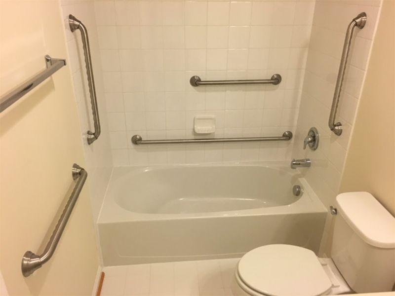 Grab Bar Installation Handyman Services, Which Way To Install Bathroom Grab Bars