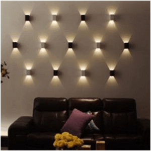 Interior Wall Lighting Installation