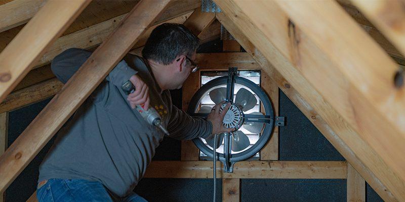 Whole House Fan Installation