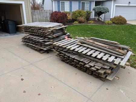 Removal and Haul away of Existing Fence