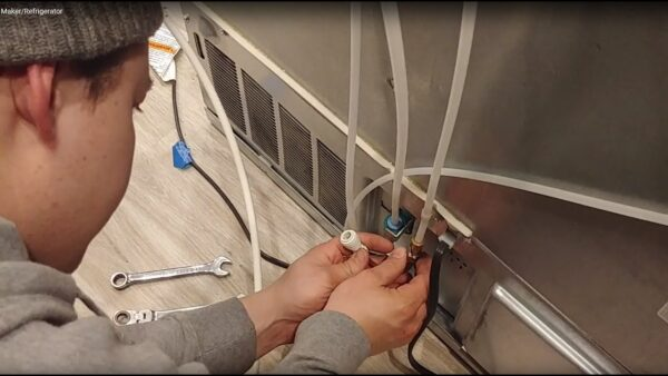 Ice Maker Installation