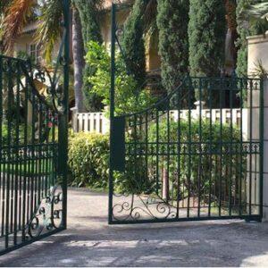 Labor cost gate opener installation