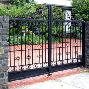 Basic labor Aluminum Driveway Gate