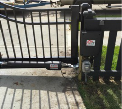 Labor to install electric Gate Opener