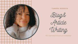 Tamera Bodrick Authur for BookACrewe Blogs